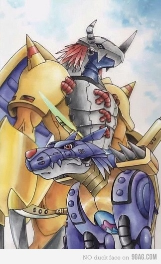 DIGIMON!!!! Seriously miss this show. Loved playing pokemon, but thought Digimon was a much better show!
