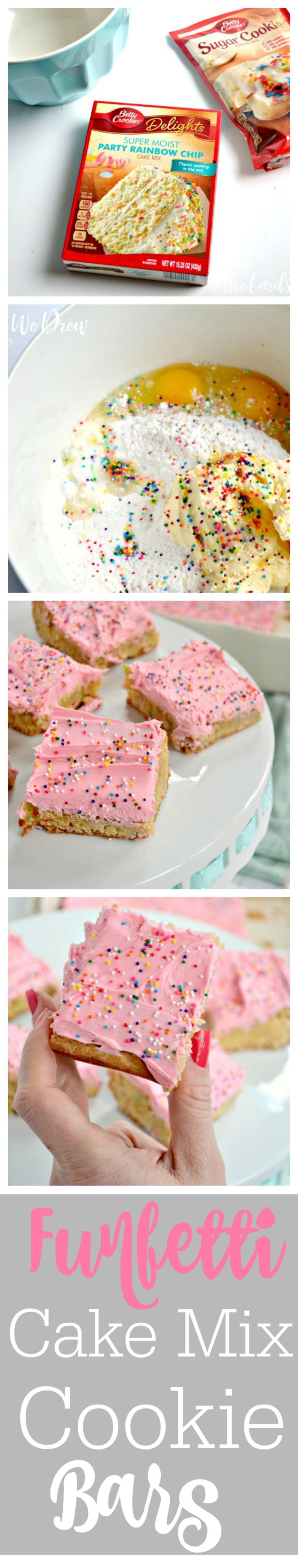 Cake mix valentine cookies recipes