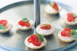 Festive savoury tartlets