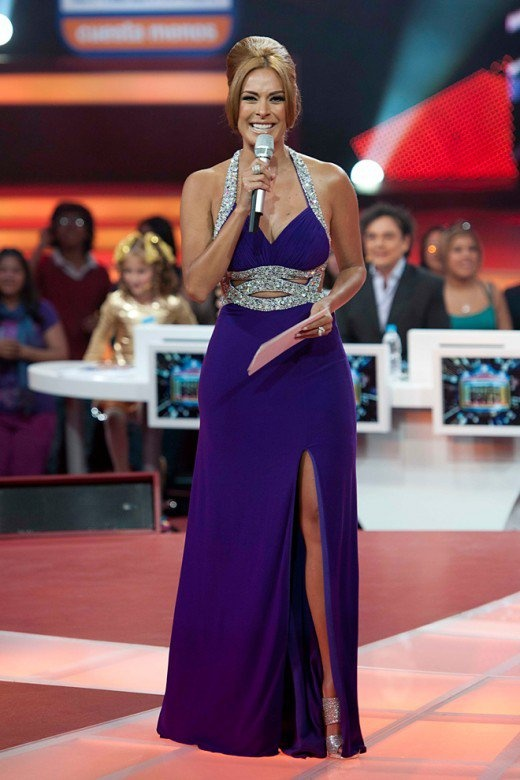 Mexican tv conductor Galilea Montijo