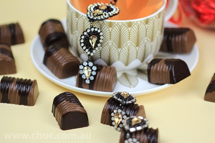 The Set  Fardoulis Chocolates, Chocolate Plato  www.choc.com.au