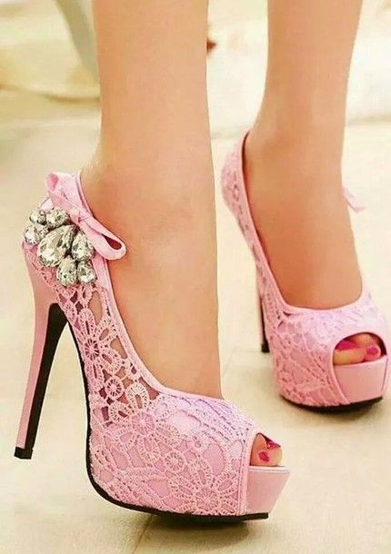 17 best ideas about Cute High Heels on Pinterest | Black high ...