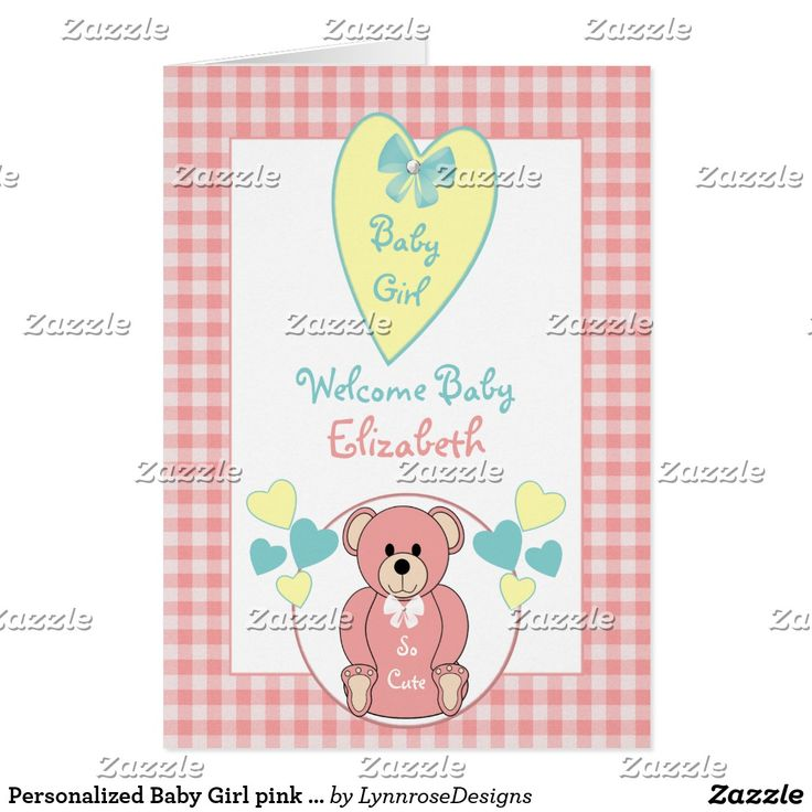 34 best Zazzle ~ New Baby Cards images on Pinterest   Baby cards ...