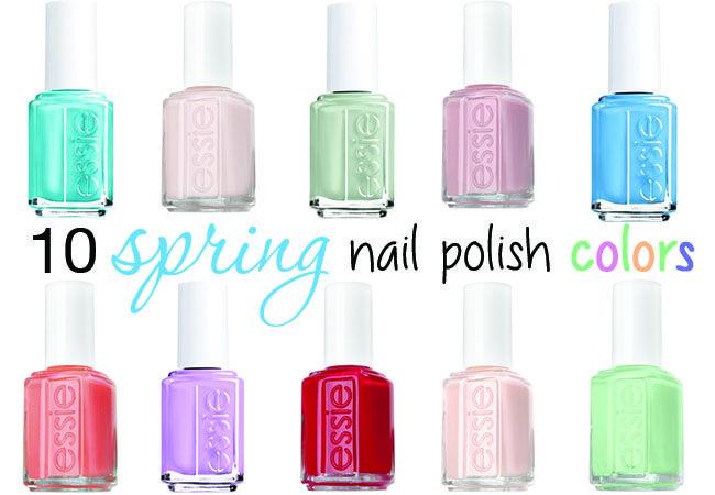 10 #spring nail polish colors #nailart