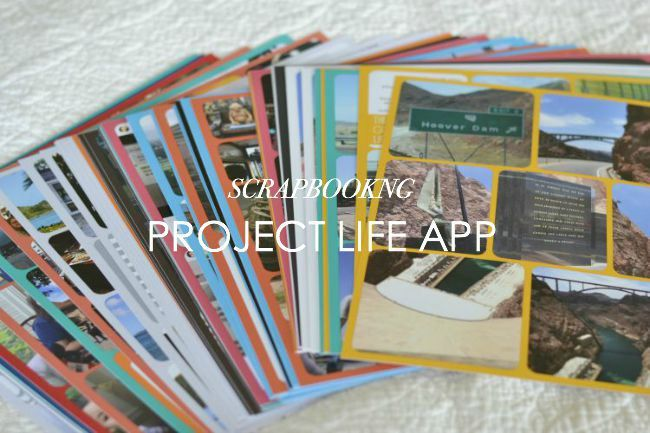 How to scrapbook with the Project Life App from houseontheway.com