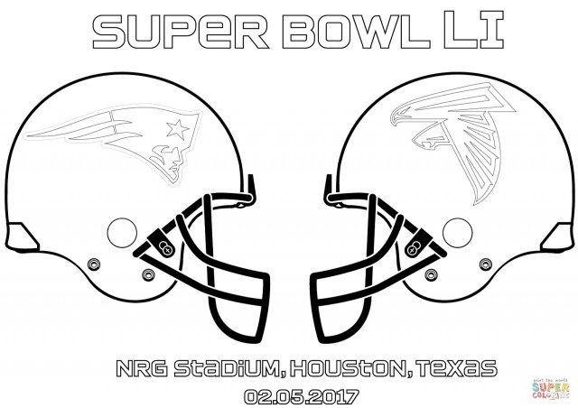 25 Creative Picture Of Football Helmet Coloring Page Super Bowl