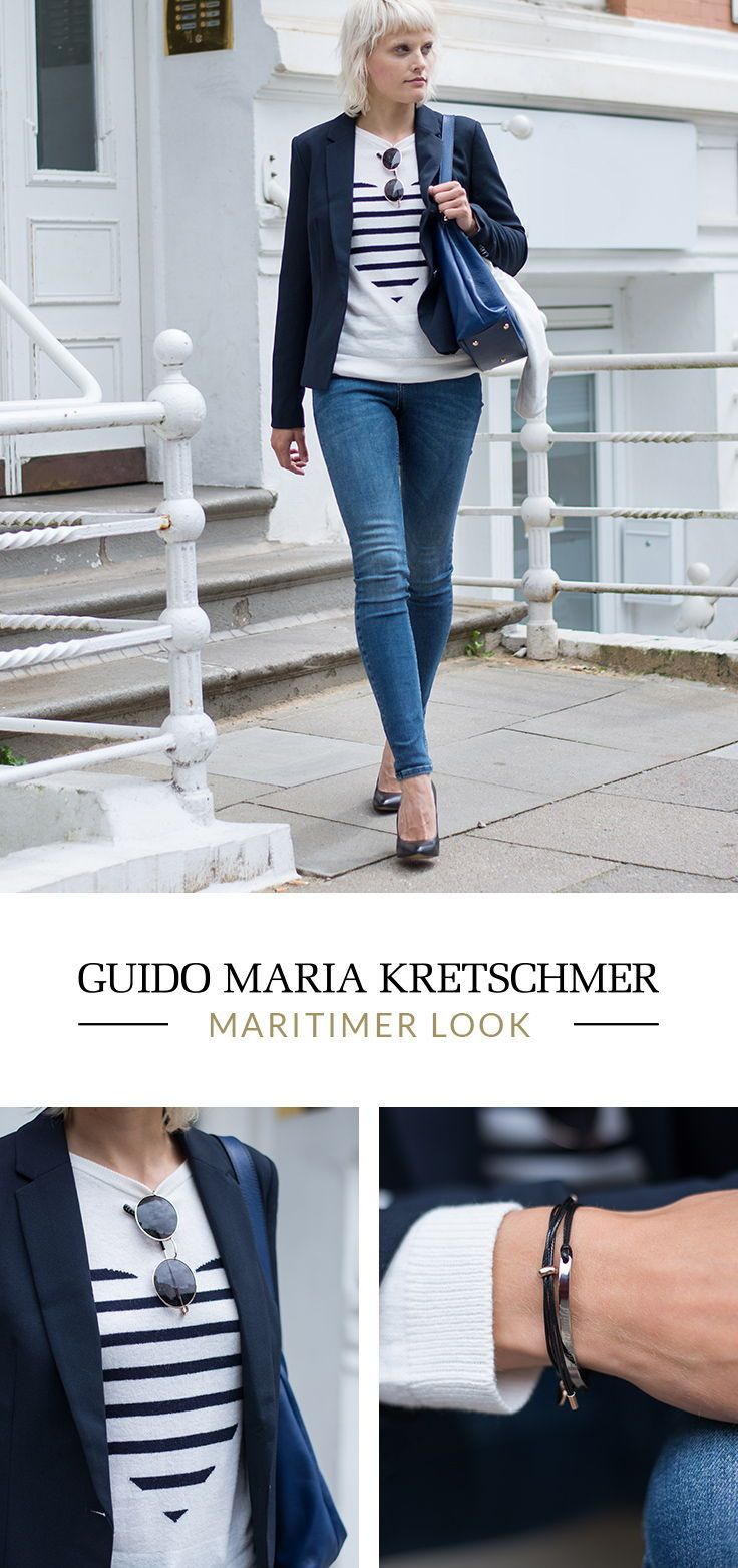 Streifen Look   Maritime mode, Outfit, Maritimer look
