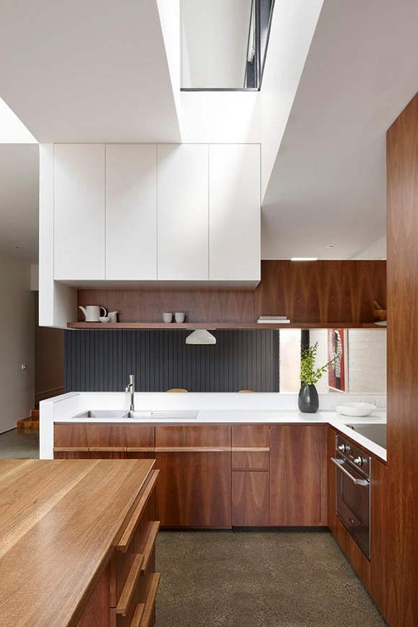 Die besten 25+ Moderne Küche im Freien Ideen auf Pinterest - durchreiche kuche wohnzimmer modern