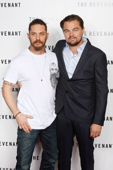 Tom Hardy and and Leonardo DiCaprio at the BAFTA screening of The Revenant | London | December 6, 2015 | HQ