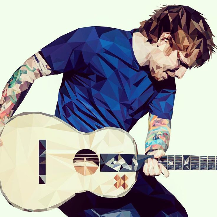 ed sheeran is one of my favourite artits and this fanart is really cool.