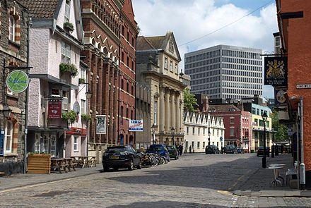 King Street, Bristol - Wikipedia, the free encyclopedia