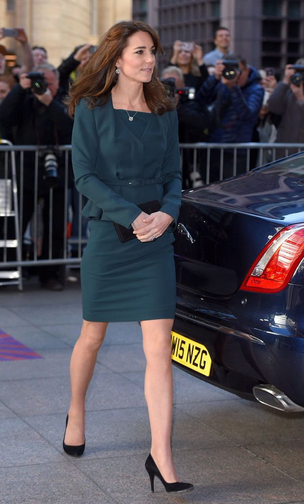 Kate Middleton's Latest Appearance Includes Witches, Ping-Pong, and Pantless Men in Heels