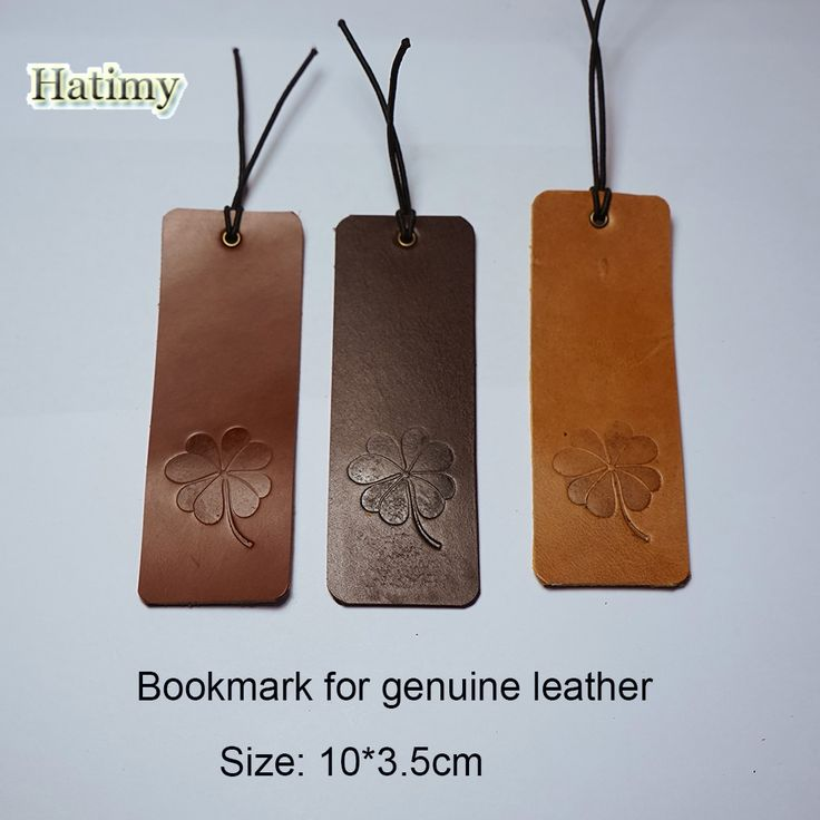 Genuine Leather bookmark marque page marcador de livro bookmarks for books clips stationery items bookmarks marcapaginas 3color