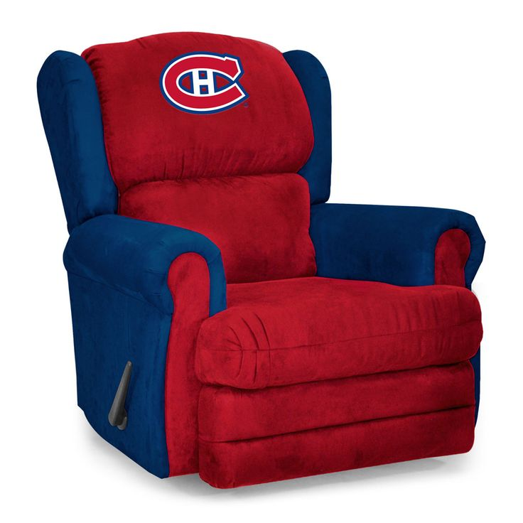 Montreal Canadiens Armchair Coach Recliner