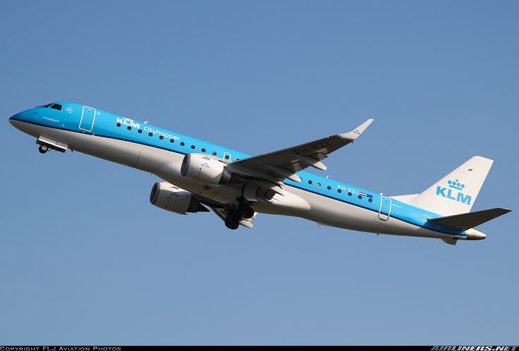 Embraer ERJ-190-100STD, KLM Cityhopper, PH-EZL, cn 19000334. Amsterdam, Netherlands, 27.2.2016.