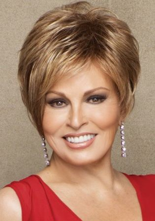 Layered Short Hairstyles For Women Over 50 With Round Faces | short hairstyles for 2012 look fashionable
