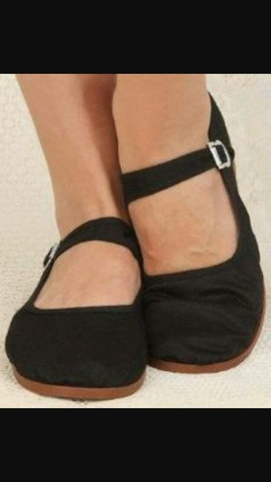We called these China Doll shoes. I loved them!