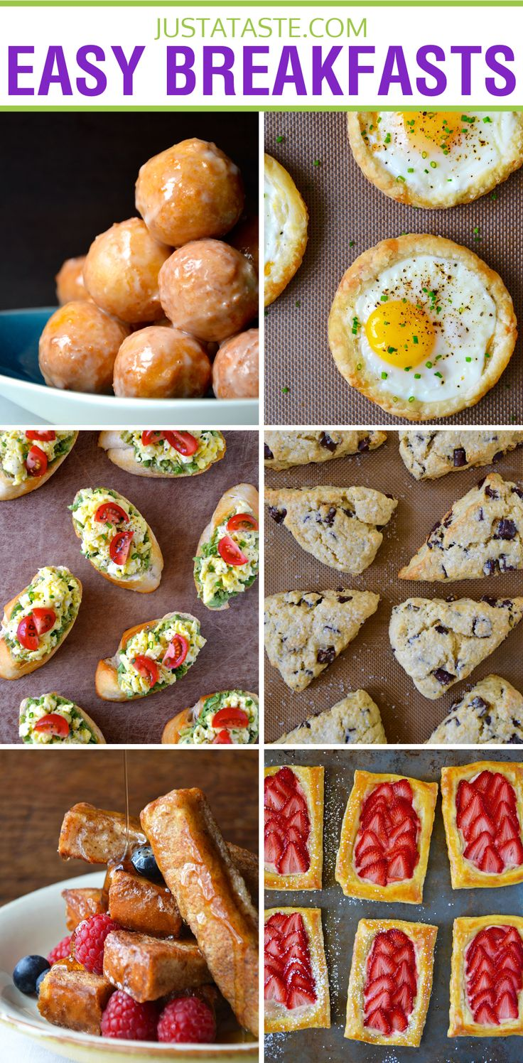 Quick and Easy Breakfast Recipes from https://justataste.com #breakfast #recipes #brunch #easy #recipe