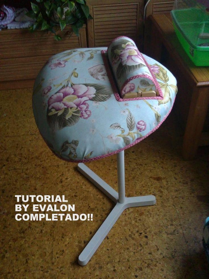 Mundillo cilíndrico - Bolster pillow ( Tatman's )   - Mundillo y base/pillow and cradle   - Otro/another     M undillo plano - Cookie pi...