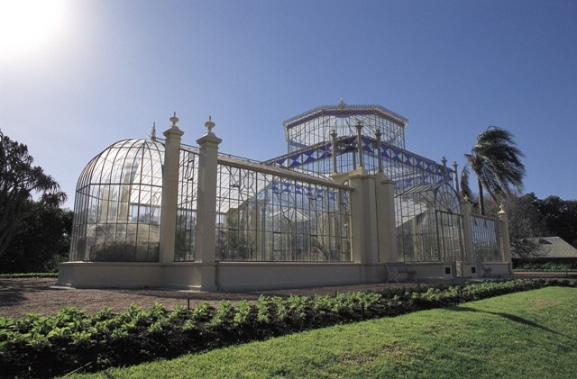 Palm House, Botanic Gardens - Picture used with the permission of the South Australian Tourism Commission