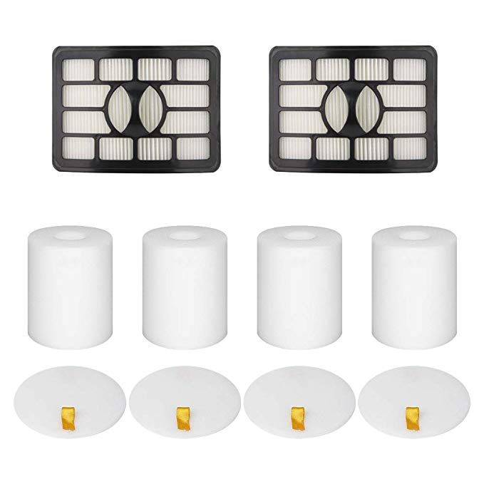 XFF500 4 Foam /& Felt Filters for Shark Rotator Lift-Away Vacuum NV500-NV503