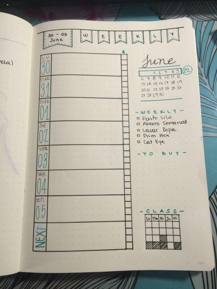 Calendar Planner Ideas : Best homemade planner ideas on pinterest bullet