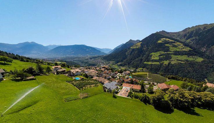 Der Gruberhof Residence Hotel in Schenna bei Meran Südtirol