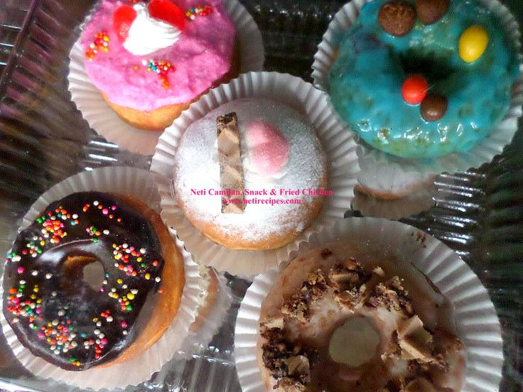 My special doughnut topping ^_^