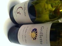 "Pinot noir ""Graf Zeppelin"" and Malbec/Merlot from the Domaine Grillette in Cressier, Neuchâtel (Switzerland)"