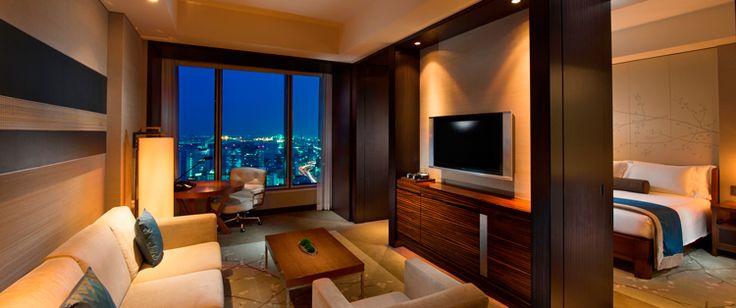 ベイビュースイート お部屋&宿泊  CONRAD TOKYO   コンラッド東京 汐留・銀座のホテル予約
