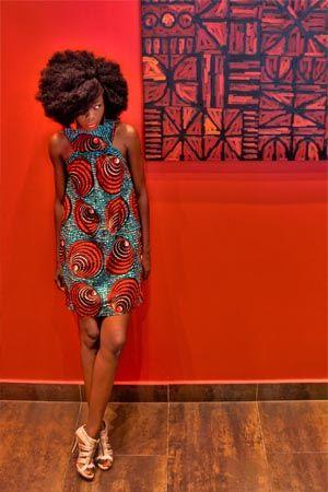 Robe [#pagne #wax #tissuafricain]