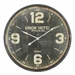 Les 25 meilleures id es concernant horloge murale vintage for Pendule murale industrielle