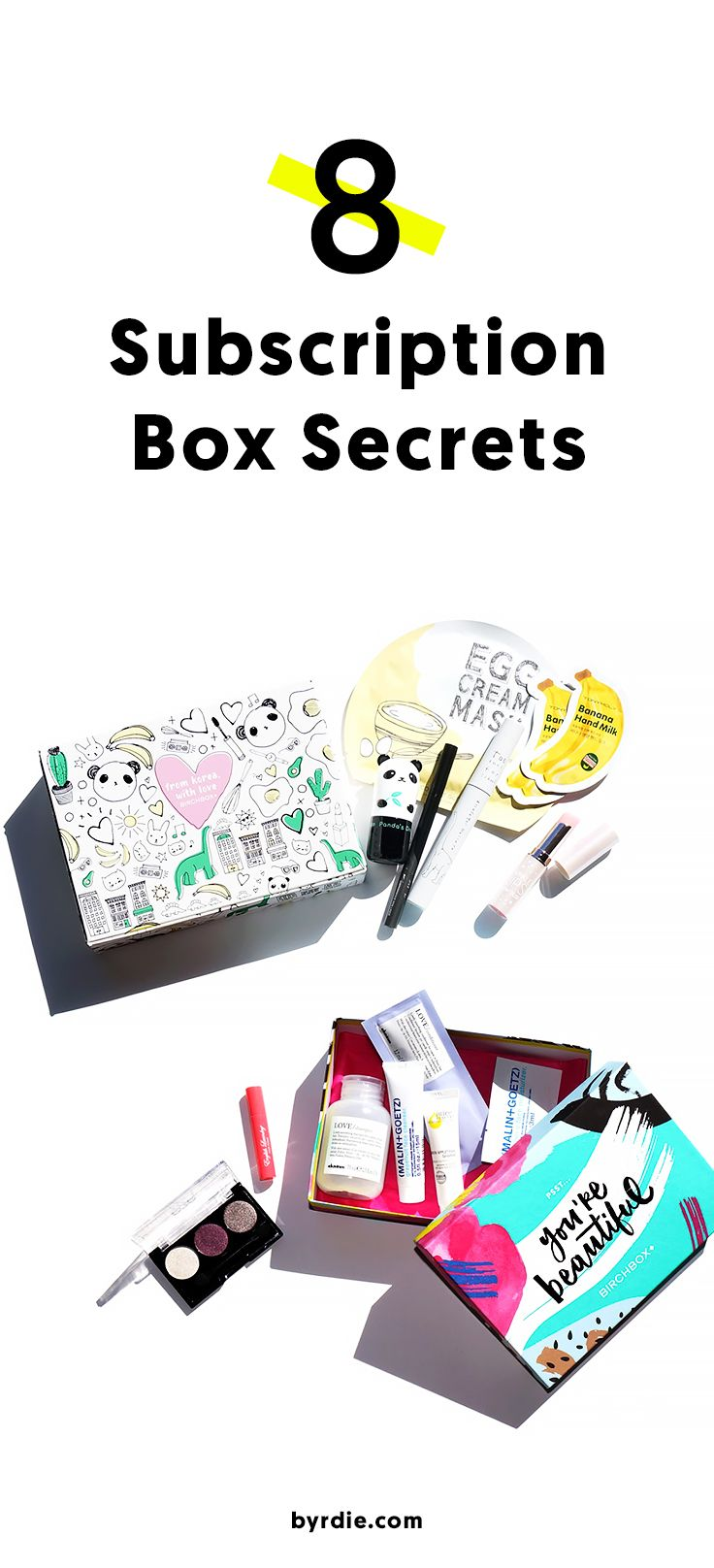Everything that you need to know about beauty subscription boxes