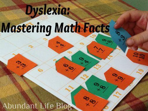 Homeschooling with Dyslexia. Fun Math Activities #dyslexia #dyslexicadv #learningdisabilities