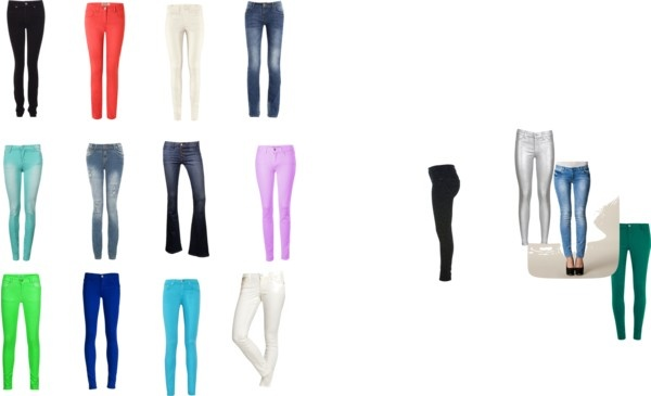 """""""jeans 1"""" by xoosnapxo on Polyvore"""