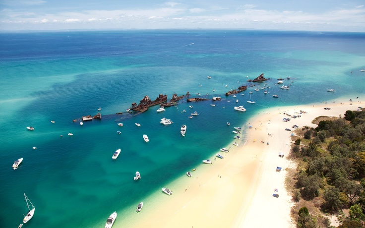 Weekends at Tangalooma Wrecks on Moreton Island #brisbane