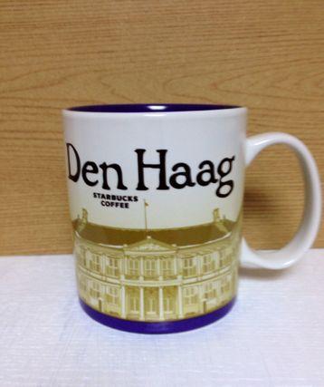 Starbucks(スターバックス) コップ・グラス・マグカップ ご当地 スタバ ☆ STARBUCKS  デン ハーグ 限定マグカップ