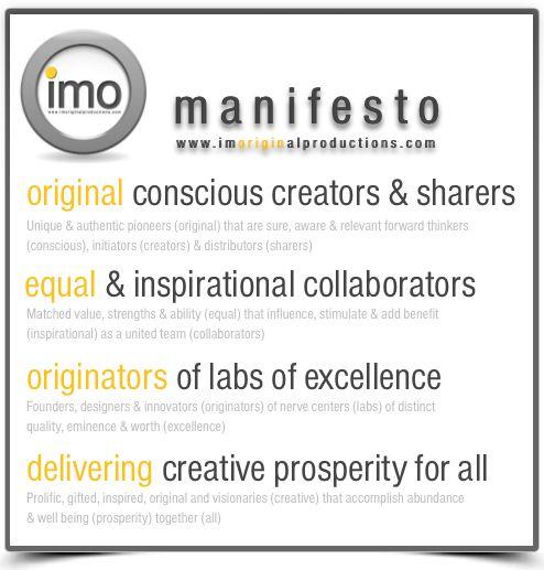 imo manifestation, oops manifesto