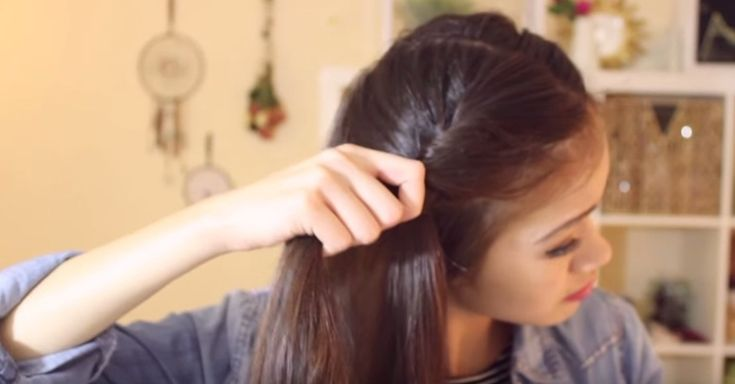 How To Get Easy, Heatless Waves Without A Curling Iron via LittleThings.com