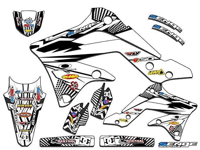 2010 2011 2012 2013-2019 KAWASAKI KLX 110 GRAPHICS KIT BIKE MOTOCROSS Decals