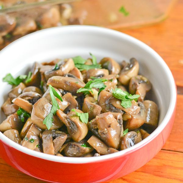 Catalan Mushrooms With Garlic And Parsley Recipe Baked