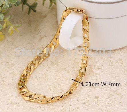 Золото браслеты, Ювелирные изделия 18 K покрытие из розового золота много стразы цепь браслет золото цепь браслеты
