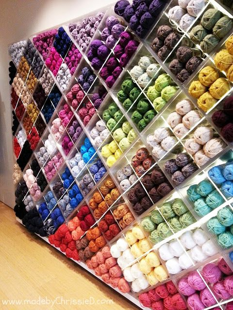 made by ChrissieD: Where To Shop For Yarn In Manhattan - Lion Brand Yarn Studio