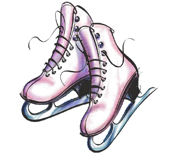 Image result for ice skate cartoon