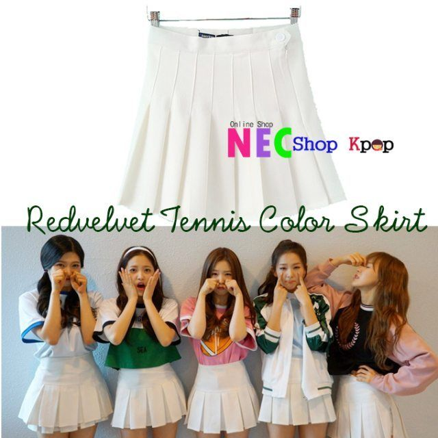Product Code : Redvelvet Tennis color Skirt Material : Cotton/Polyester Color : Black, Lilac , white, Pink, Navy, Black Size : S,M,L (in CM) Price :…