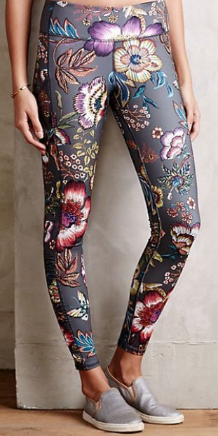 pretty floral leggings #anthrofave  http://rstyle.me/n/tt2mwpdpe