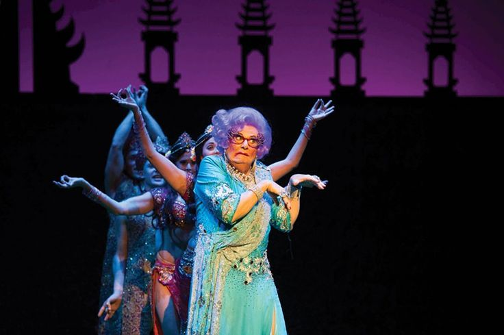 Barry Humphries is on his final tour as Dame Edna.