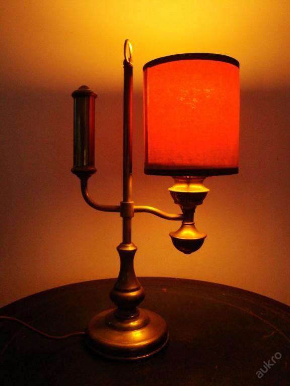 STAROŽITNÁ FRANCOUZSKÁ LAMPA! SUPER KRÁSNÁ!!!