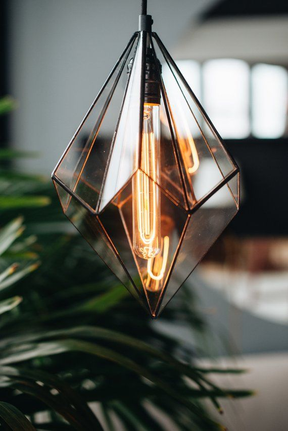 This Item Is Unavailable Etsy Geometric Pendant Lamps Glass Lamp Geometric Lighting