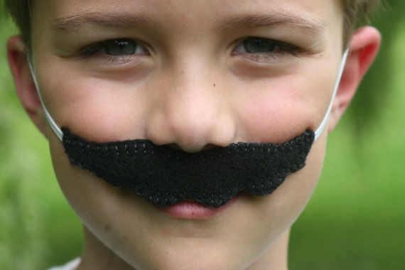 Super Mario Brothers-Felt Mario Mustache   by KidInspiredDesigns